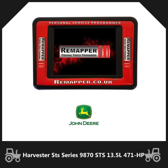 John Deere Harvester Sts Series 9870 STS 13.5L 471-BHP Diesel