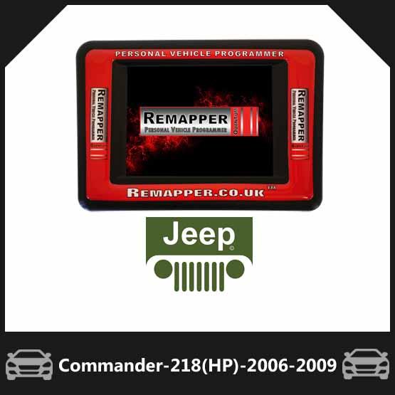 Jeep Commander 3 0 V6 CRD 218-BHP Diesel (2006-2009)
